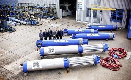 GZUT wykonał obróbkę części hydraulicznych pomp