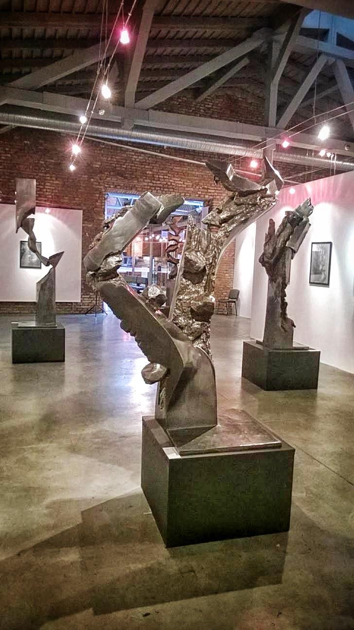 Rzeźba odlana w gliwickiej Odlewni GZUT