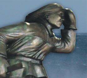 Odlew rzeźby Beaty Czapskiej SjoSara