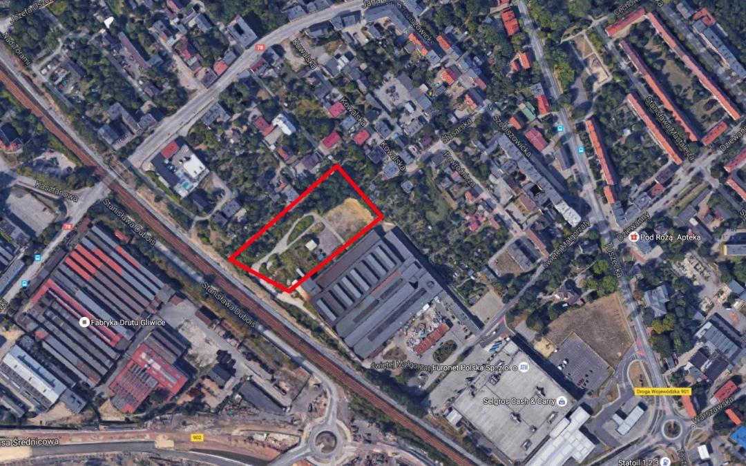 Grunt inwestycyjny o powierzchni 1 hektara