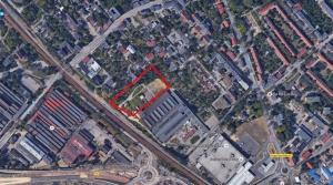 GZUT - teren inwestycyjny, lokalizacja terenu.