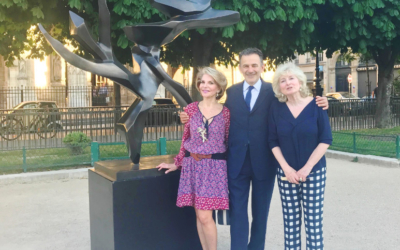 Tree of peace w Paryżu